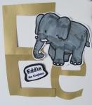 short vowel friend-- Eddie the Elephant